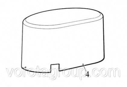 Крышка верхняя NICE ROBO (цвет графит) (PPD1870A.4540)