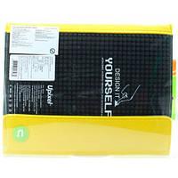 Клатч c ремешком для руки желто-черный, Upixel, фото 1