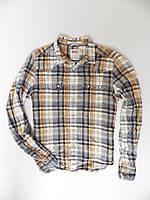 Рубашка Levis р-р S Оригинал (сток, б/у) original с длинным рукавом