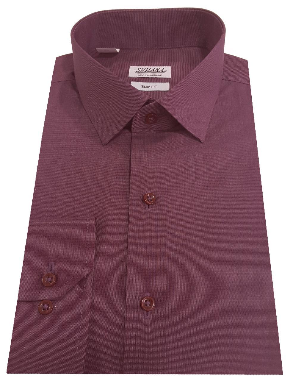 Рубашка мужская приталенная №10-12 - Filafil - 22