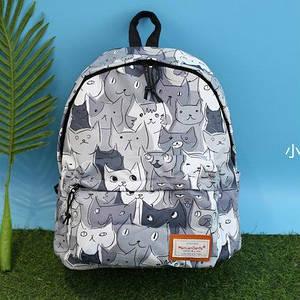 Прогулочный рюкзак с принтом Котов