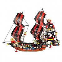 Конструктор Sluban Пиратский корабль M38-B0129, 632 детали