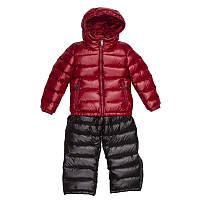 Зимний костюм куртка и полукомбинезон на пуху для мальчика и для девочки ADD Италия