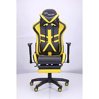 Кресло VR Racer BN-W0110A черный/желтый AMF