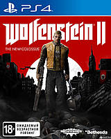 Игра Sony PS4 Wolfenstein II: The New Colossus