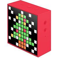 Колонка беспроводная Divoom TimeBox mini Red