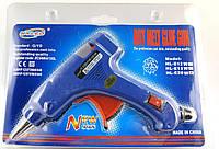 Клеевой пистолет, Горячий клей, 20W, Синий, 13 cm x 11 cm, 20 cm x 0.7 cm