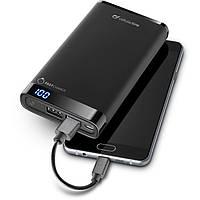 Дополнительный аккумулятор универсальный 12000 mAh Cellular Line FreePower Manta Black (FREEPMANTA12000K)
