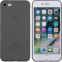 Накладка TOTO Ultra Thin TPU Case iPhone 7/8 Black