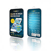 Защитное стекло HTC One M8 прозрачное AUZER (AG-SHOM8)