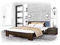 Ліжко з дерева Титан