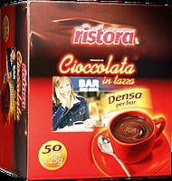 """Горячий Шоколад Ristora Bar """"Cioccolata"""" порционный (50 стиков) 1250 грамм, Италия Ристора"""
