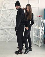 Family look велюровый спортивный костюм CITY мужской и женский