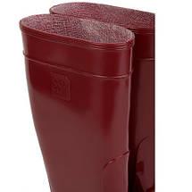 Сапоги резиновые OLDCOM женские ароматизированные Бордовые, фото 3