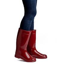 Сапоги резиновые OLDCOM женские ароматизированные Бордовые, фото 2