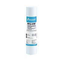 """Картридж из вспененного полипропилена для горячей воды Ecosoft 2,5""""x10"""" 5 мкм"""