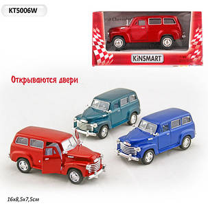 """Kinsmart Машина KT5006W """"Chevrolet Suburban речовий мішок"""", фото 2"""