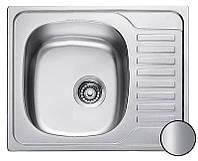Кухонная мойка Platinum 5848M матовая 0,6 мм глубина 16 см