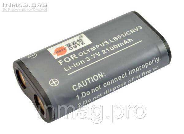Аккумулятор для фотоаппарата Kodak LB-01, 2100 mAh.