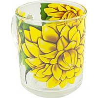 """Чашка стекло 200мл """"Green Tea"""" Valse des fleurs №3318 / ОАЭ / Галерея /"""