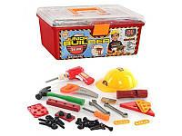 Детский игровой Набор инструментов 2058 в чемодане для мальчиков от 3-х лет (41 деталь) Royaltoys