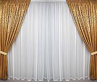 Готовые шторы плотные комплект