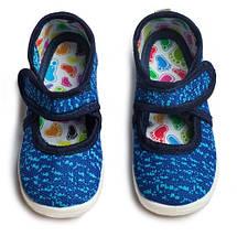 Тапочки детские TILDA INFINITY синий электрик, фото 3