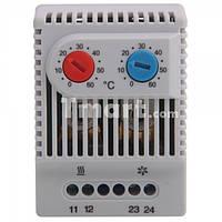 Термостат регулятор температуры 0 - 60С температурное реле 220В ZR 011