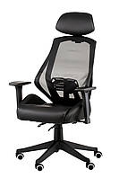 Кресло офисное Alto dark, черный