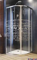 Душевая кабина с поддоном AQUAFORM NIGRA 900/2110 стекло Аква