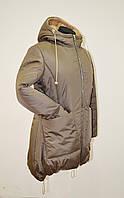 Зимняя женская куртка теплая 5020 фирменный пошив