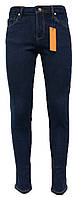 Джинсы женские средняя посадка стрейч на флисе (зима)