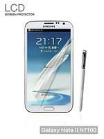Защитная пленка для Samsung N7100 Galaxy Note 2 - Yoobao screen protector (clear), глянцевая