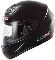 Шлем LS2 FF352 Rookie SINGLE MONO, MATT BLACK, XL