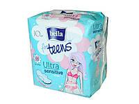 Прокладки гігієнічні 10 шт.4 к.(Ultra Sensitive extra soft) ТМBELLA