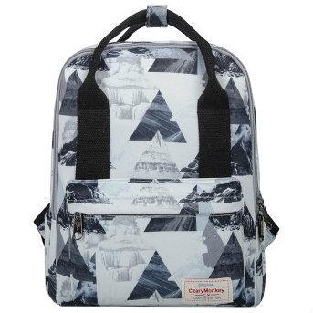 Школьная сумка-рюкзак с рисунком Гор