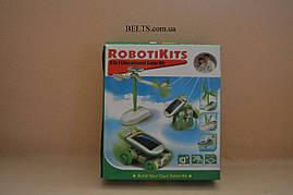 Мини солнечный комплект для детей 6 в 1, конструктор RobotiKits (Роботикитс)