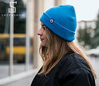 Зимняя шапка Протест голубая