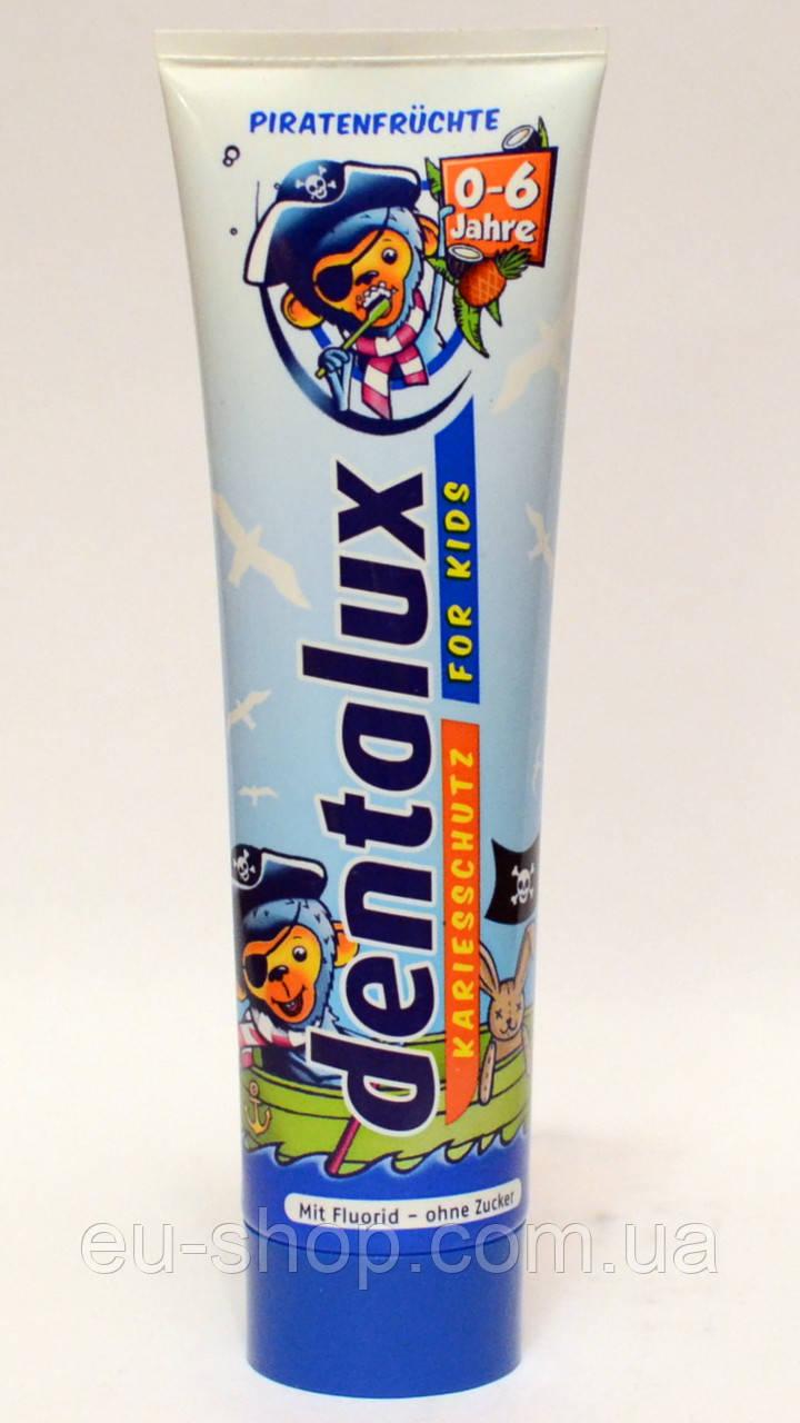 Детская зубная паста Dentalux Пираты ( Фруктовая) 100 мл., фото 1