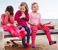 Детские колготки био-хлопок с махровой стопой для девочек  р.86/92 TCM Tchibo, Германия