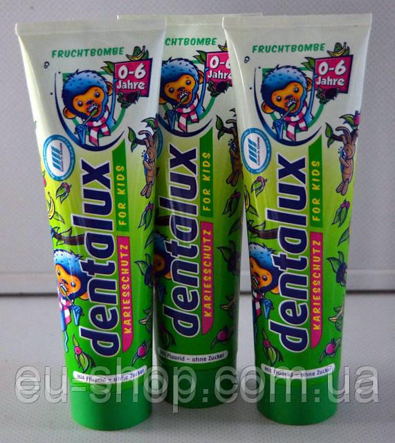 Детская зубная паста Dentoluxlux Пираты ( Фруктовая) 100 мл., фото 1