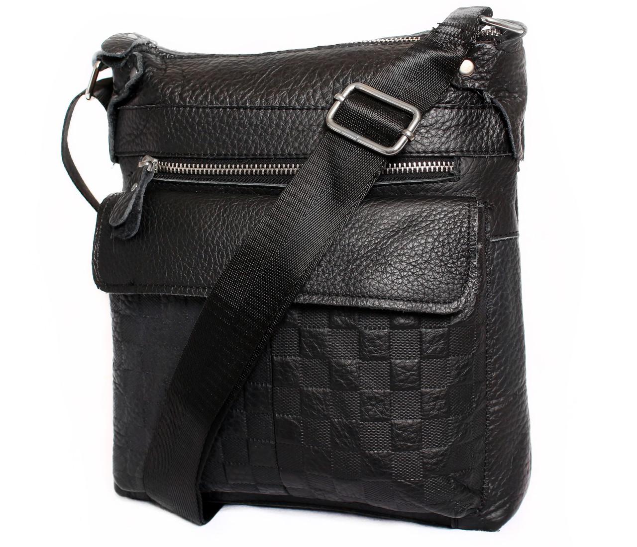 Кожаная мужская сумка 139971