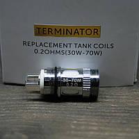 Сменный испаритель для электронных сигарет Tesla Terminator Raplacemant Coil 0.2 Ohm