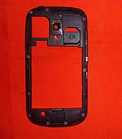 Корпус Samsung I8200 Galaxy S3 mini (средняя часть) черный Original
