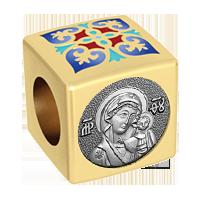 Бусина Казанская икона Божией Матери