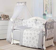 Детская постель Twins Dolce Bears Grey