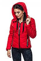 Демисезонная стеганная куртка с 42 по 54 размер 5 цветов