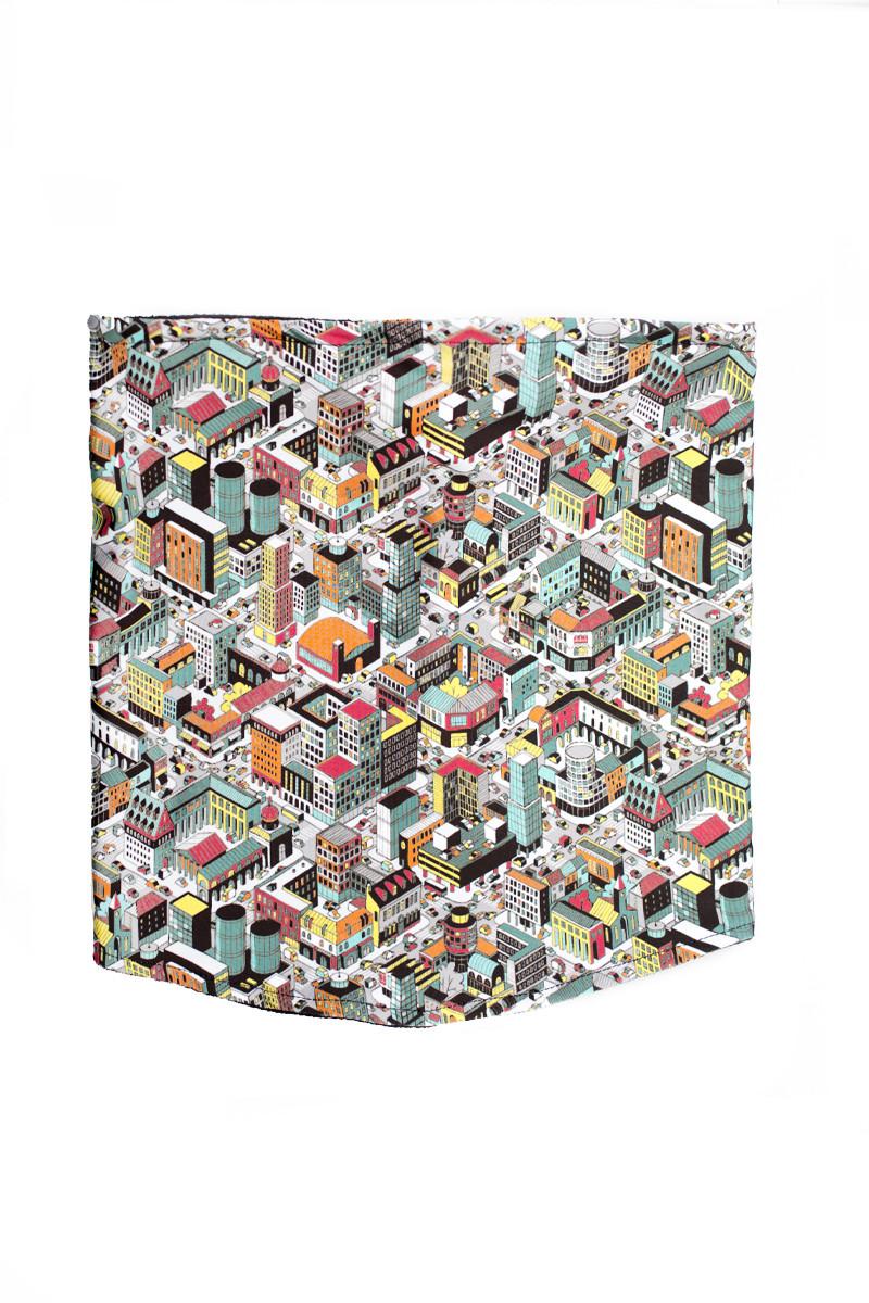 Бафф шарф маска Urban Planet CITY (баффы, бафф-шарф, шарф-маска, баф,