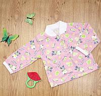 Кофточка ясельная MirAks TN-4893-01 Pink (Розовый/кулир)