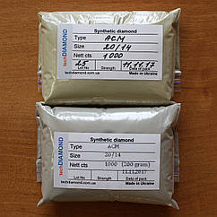 Синтетичні алмазні мікропорошки АСМ 20/14.